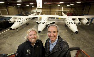 Spaceship2 Rutan Branson