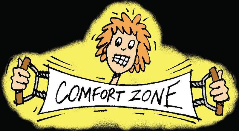 Stretch comfort zone