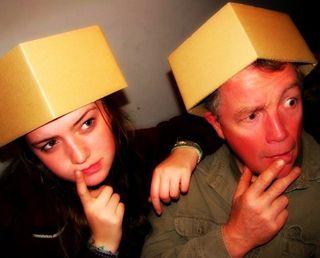 Bob and Hannah in the box