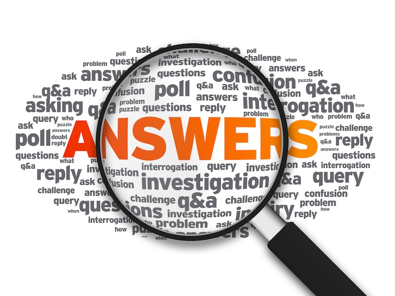 Answers Magnifying Glass