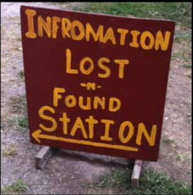 Infromation lost and found