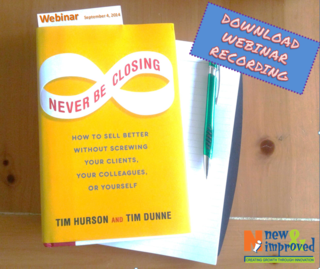 Never Be Closing Download Webinar Recording