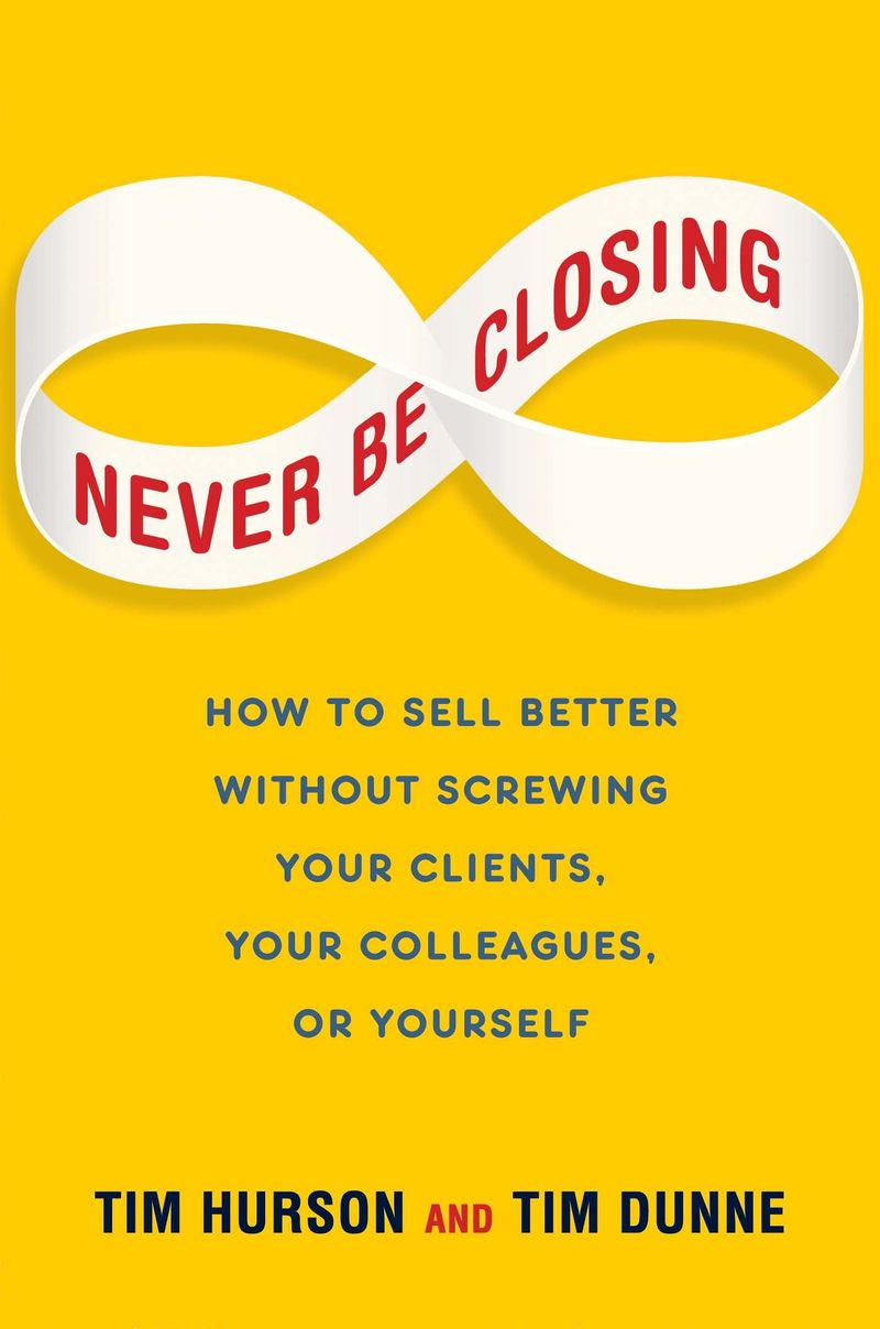 Never Be Closing Book cover