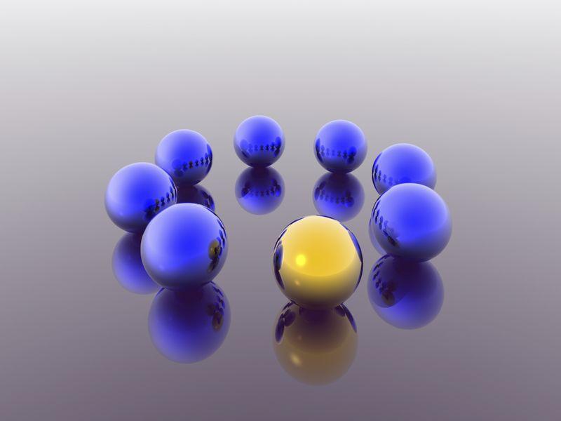 Leadership on a team spheres
