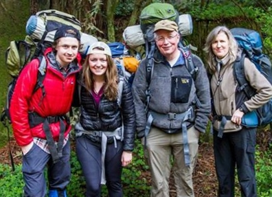 Eckert Family Backpacking Lost Coast